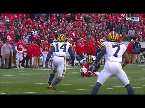 2017 - Michigan Wolverines at Wisconsin Badgers in  30 Minutes