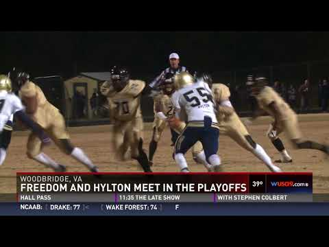 Hylton upsets no. 8 and undefeated Freedom-Woodbridge behind Ricky Slade's yGAME