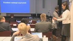 Toimeentulotuen yhteistyötilaisuudet 2016 Tampere, Kysymysosio