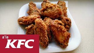 Skrzydełka HOT WINGS w panierce jak z KFC