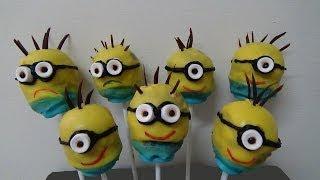 Minions Cake Balls