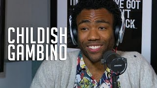 Childish Gambino keeps it all the way Real w/ Rosenberg!