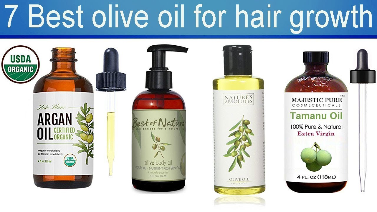 7 Best olive oil for hair growth with Price 2018