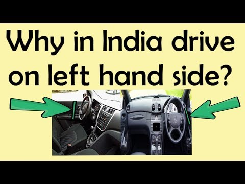 General Knowledge Question and Answer || Why drive on the left-hand side in India? || India G.K.