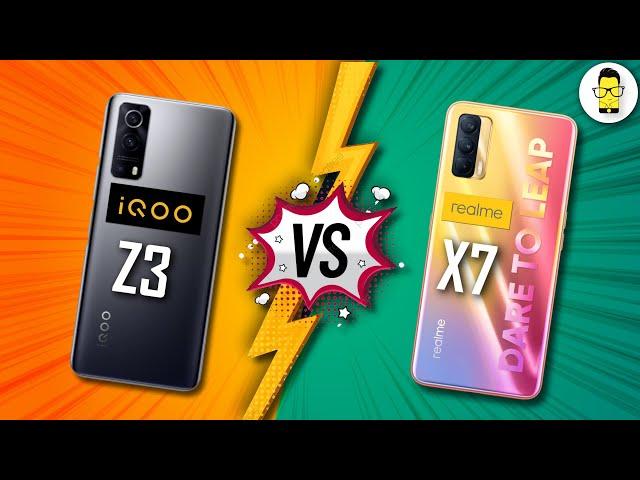 iQOO Z3 vs. Realme X7 Full Comparison: 120Hz LCD or 60Hz sAMOLED?