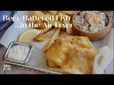 Beer-Battered Air-Fried Fish