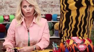 Video Crochet Ripple with Team Spirit from Red Heart download MP3, 3GP, MP4, WEBM, AVI, FLV Juli 2018