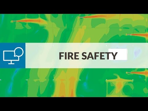 Fire Safety and Smoke Management with CFD | SimScale Webinar