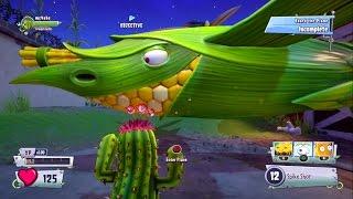Plants vs. Zombies GW2 Мультик о зомби РАСТЕНИЯ против ЗОМБИ Садовые Войны 2 Самолет Кукуруза