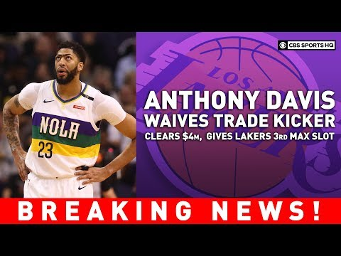 Lakers rework deal with Pelicans to open max salary slot | BREAKING NEWS | CBS Sports HQ