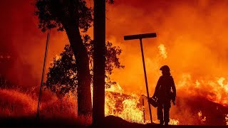 17 missing, 2 firefighters dead in California wildfires
