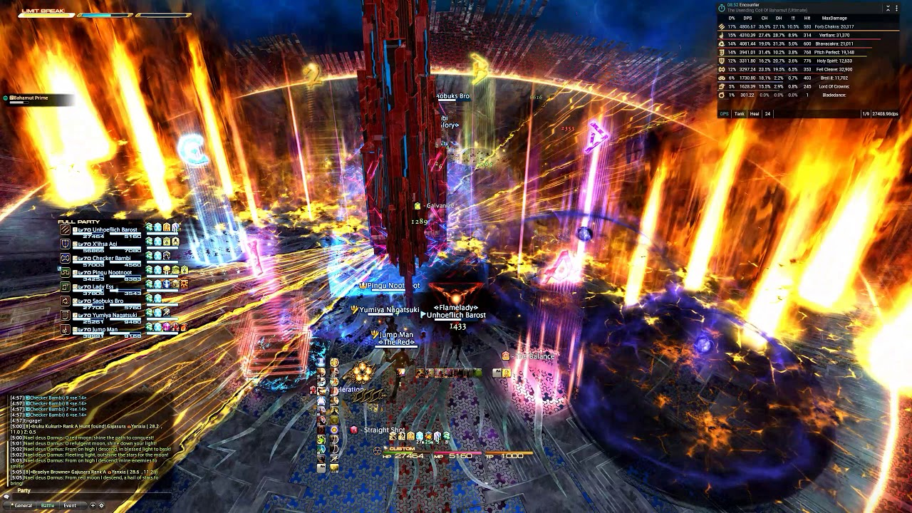 FFXIV - [UA] The Unending Coil of Bahamut (Ultimate) clear MNK PoV