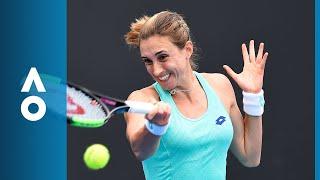 Petra Martic v Irina-Camelia Begu match highlights (2R) | Australian Open 2018