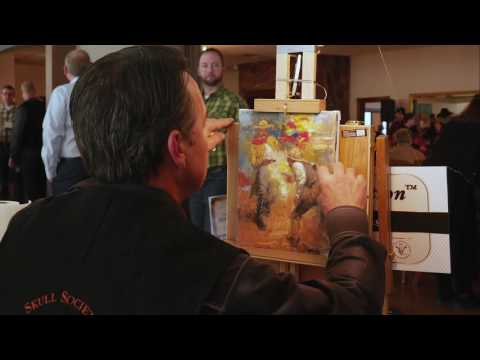 Art In Action with Andy Thomas at The Russell