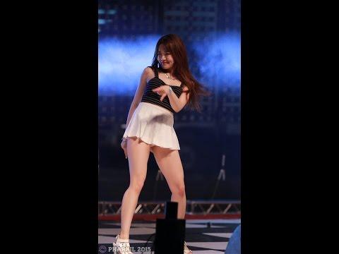 [직캠/Fancam] 150529 밤비노(BAMBINO) (은솔) 댄스공연 Uptown Funk @ 강릉영동대