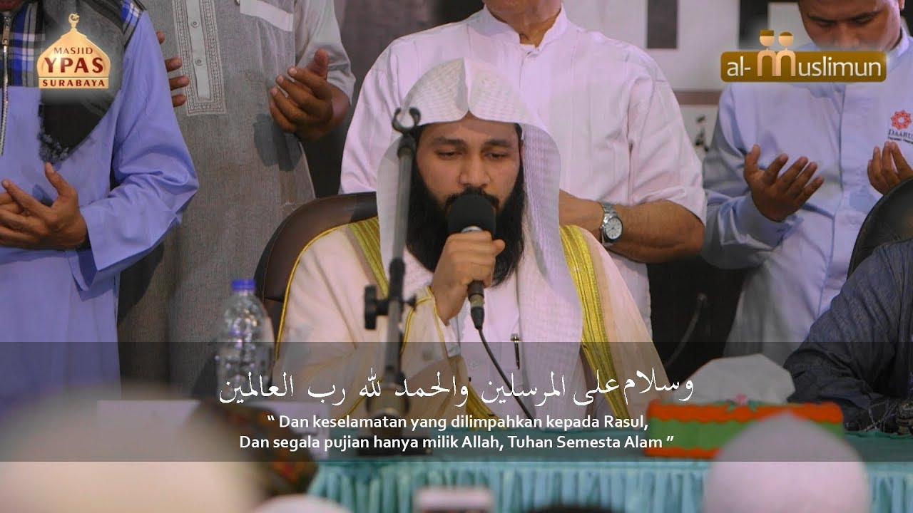 Do'a Syekh Abdurrahman Al-Ausy yang membuat jama'ah menangis