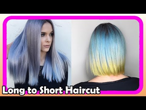 Beautiful Long to Short Pixie Haircut Women #9 ● Extreme Hair Makeover ●  Hairstyles 2018