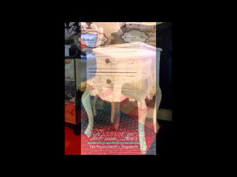 French Chic Bedside Tables by VICTORIAN FLAIR