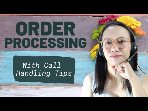 MOCK CALL PRACTICE: Order Taking And Processing, Call Handling Tips, SEASONAL Or FULL TIME