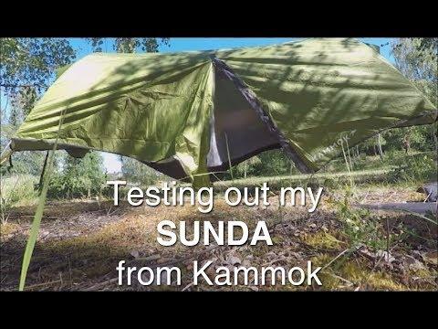 Testing out my Sunda from Kammok