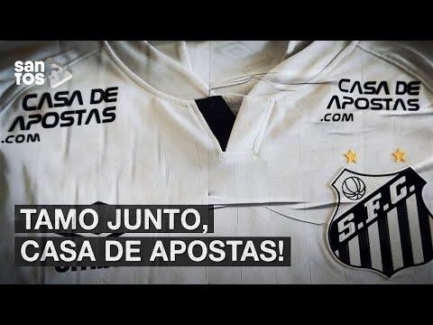 DOBRAMOS A APOSTA! CASA DE APOSTAS RENOVA PATROCÍNIO COM O #SANTOS