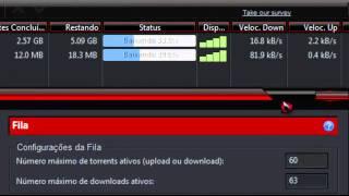Acelerando o Utorrent- Novas configurações - 2012