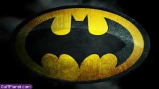 "Batman Cufflinks 3D Black Satin Mask - CuffPlanet ""We Specialize in Cool"" Thumbnail"