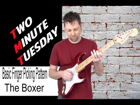 Basic Fingerpicking Pattern - The Boxer - Simon & Garfunkel