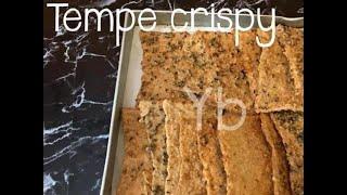 Tempe crispy / Tempeh Crispy || Easy and great snack, vegetarian