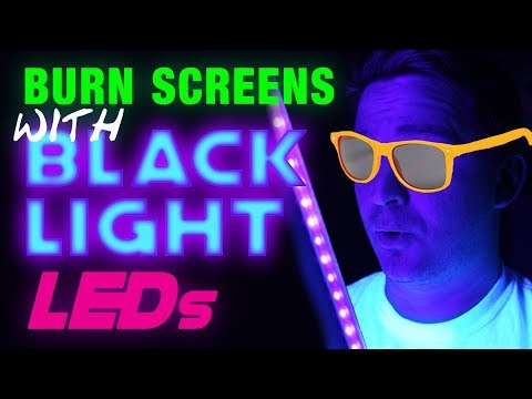 DIY Blacklight Exposure Unit - Burn Screens With Blacklight LEDs