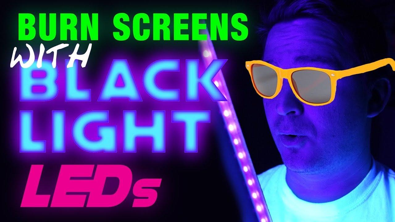 DIY Blacklight Exposure Unit - Burn Screens With Blacklight LEDs