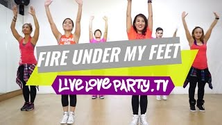 Fire Under My Feet by Leona Lewis (View on Desktop/Laptop) | Zumba� | Live Love Party