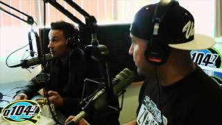 Frankie J Interview With Q104.7's The Rico and Mambo Morning Show