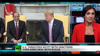 Egypt buys Russian warplanes, US threatens sanctions