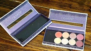 HOW TO TURN COLOURPOP PALETTE INTO EMPTY Z PALETTE HACK