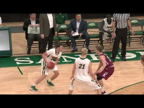 Game Recap: Valley City State at NDSU men's college basketball 12-12-17