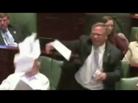 Illinois lawmaker, Rep. Mike Bost explains angry outburst