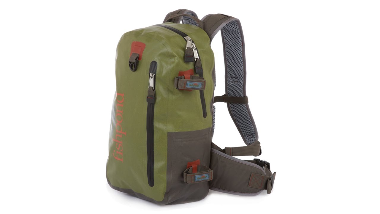 fishpond westwater waterproof fly fishing backpack youtube