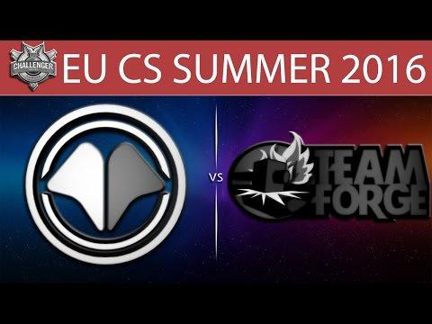 [LoL VODs] MIL vs 4G Game 1 | EU CS Summer 2016 (14.06.2016) - Millenium vs Team Forge