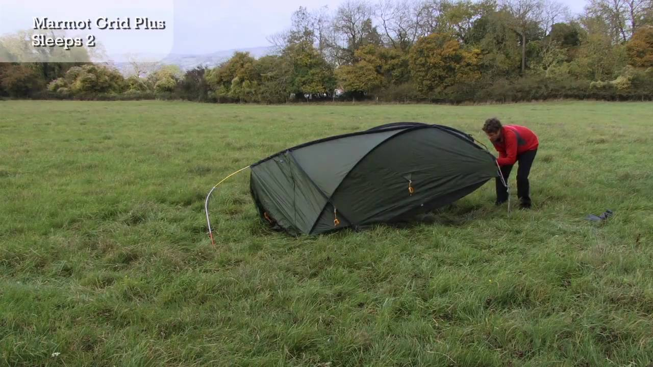 Marmot Grid Plus - Tent Pitching Video - YouTube