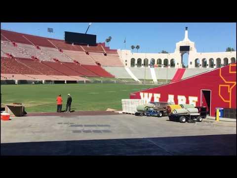 My Tour of the Los Angeles Memorial Coliseum