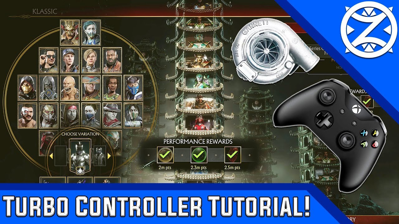 MK11   How to Setup a Turbo Controller for FREE! [PC]