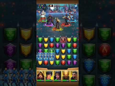 Using 5 Yellows Vs Guin And OP Kageburado - Empires And Puzzles
