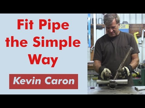 How to Cut Pipe at an Angle Accurately - Kevin Caron