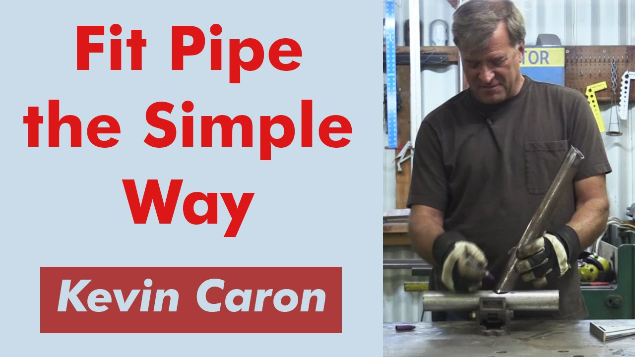 how to cut pipe at an angle accurately kevin caron youtube