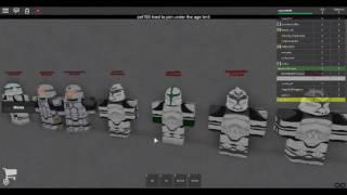Roblox starwars training
