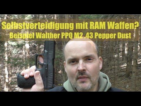 Selbstverteidigung mit RAM Walther PPQ M2?