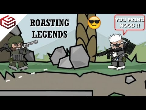 DA2 MiniMilitia When You Manage To Kill a Legend.. (Legend vs Noob Part-2)