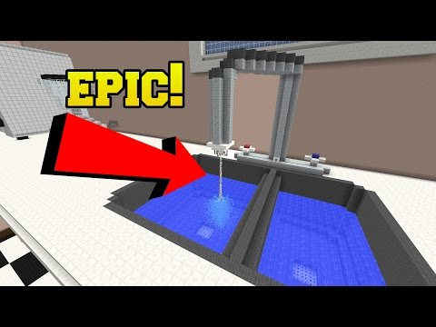 Minecraft: EPIC WORKING SINK!!! - Crack The Case - Custom Map [3]