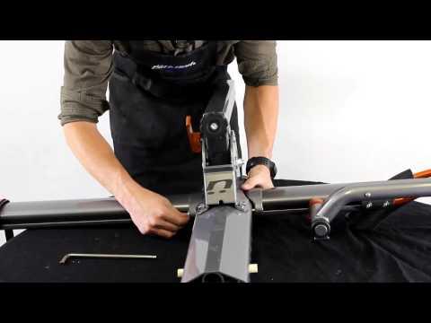 Kuat NV Hitch Mount Bike Rack Assembly Demonstration Video